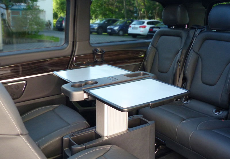 Innenansicht der Mercedes V-Klasse